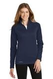 Women's Eddie Bauer 1/2-Zip Base Layer Fleece River Blue Navy Thumbnail