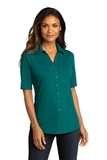 Port Authority Ladies City Stretch Top Dark Teal Thumbnail
