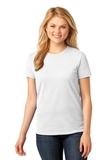Women's 5.4-oz 100 Cotton T-shirt White Thumbnail