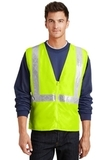Safety Vest Safety Yellow with Reflective Thumbnail