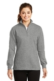 Women's 1/4-zip Sweatshirt Vintage Heather Thumbnail