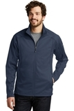 Eddie Bauer Trail Soft Shell Jacket River Blue Navy with River Blue Navy Thumbnail