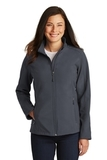 Women's Core Soft Shell Jacket Battleship Grey Thumbnail