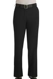 Women's Flat Front 100 Polyester Security Pants Black Thumbnail