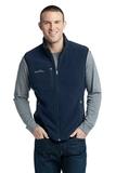 Eddie Bauer Fleece Vest River Blue Navy Thumbnail