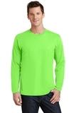 Long Sleeve Fan Favorite Tee Flash Green Thumbnail