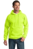 Pullover Hooded Sweatshirt Safety Green Thumbnail