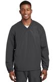 V-neck Raglan Wind Shirt Graphite Thumbnail