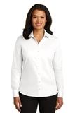 Women's Red House NonIron Twill Shirt White Thumbnail
