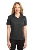 Women's Rapid Dry Polo Shirt Jet Black Thumbnail