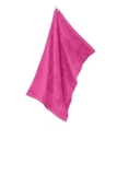 Grommeted Microfiber Golf Towel Pop Raspberry Thumbnail