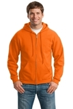 Full-zip Hooded Sweatshirt S. Orange Thumbnail