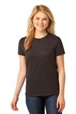 Women's 5.4-oz 100 Cotton T-shirt Dark Chocolate Brown Thumbnail
