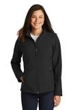Women's Core Soft Shell Jacket Black Thumbnail