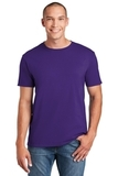 Softstyle Ring Spun Cotton T-shirt Purple Thumbnail