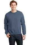 Heavy Blend Crewneck Sweatshirt Indigo Blue Thumbnail