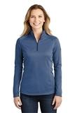 Women's The North Face Tech 1/4-Zip Fleece Blue Wing Thumbnail