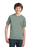 Youth Essential T-shirt Stonewashed Green Thumbnail