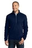 Microfleece 1/2-zip Pullover True Navy Thumbnail