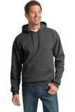 Pullover Hooded Sweatshirt Black Heather Thumbnail