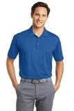 Nike Golf Dri-FIT Vertical Mesh Polo Gym Blue Thumbnail