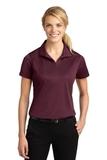 Women's Micropique Moisture Wicking Polo Shirt Maroon Thumbnail