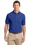 Tall Silk Touch Polo Shirt With Pocket Royal Thumbnail