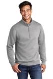 Core Fleece 1/4-Zip Pullover Sweatshirt Athletic Heather Thumbnail