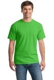 Heavy Cotton 100 Cotton T-shirt Electric Green Thumbnail