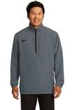 Nike Golf 1/2-zip Wind Shirt Dark Grey with Black Thumbnail