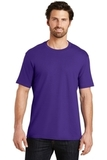 Short Sleeve Perfect Weight District Tee Purple Thumbnail
