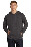Lightweight French Terry Pullover Hoodie Heather Black Thumbnail