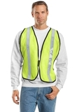 Mesh Safety Vest Safety Yellow Thumbnail