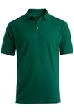 Men's Short Sleeve Soft Touch Blended Pique Polo Hunter Thumbnail
