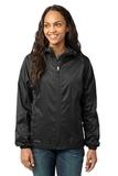 Women's Eddie Bauer Packable Wind Jacket Black Thumbnail