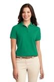 Women's Silk Touch Polo Shirt Kelly Green Thumbnail