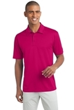 Legendary Sateen Moisture Wicking Polo Pink Raspberry Thumbnail