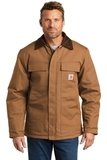 Carhartt Duck Traditional Coat Carhartt Brown Thumbnail