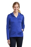 Women's Nike Golf Therma-FIT Full-Zip Fleece Hoodie Game Royal Thumbnail