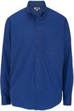 Men's Cotton Twill Rich Long Sleeve Twill Shirt Royal Thumbnail