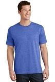 5.5-oz 100 Cotton T-shirt Heather Royal Thumbnail