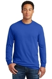 Heavy Cotton 100 Cotton Long Sleeve T-shirt Royal Thumbnail