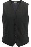 Redwood & Ross Signature Women's High-button Vest Charcoal Thumbnail