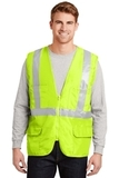 Ansi Class 2 Mesh Back Safety Vest Safety Yellow Thumbnail