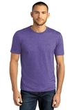 District Perfect Tri DTG Tee Purple Frost Thumbnail