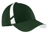 Dry Zone Mesh Inset Cap Forest Green with White Thumbnail
