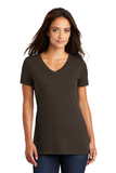 Women's Perfect Weight V-neck Tee Espresso Thumbnail