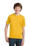 Youth Essential T-shirt Lemon Yellow Thumbnail