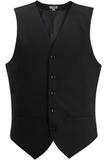 Redwood & Ross Signature Men's High-button Vest Black Thumbnail