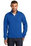 Fan Favorite Fleece 1/4 Zip Pullover Sweatshirt True Royal Thumbnail